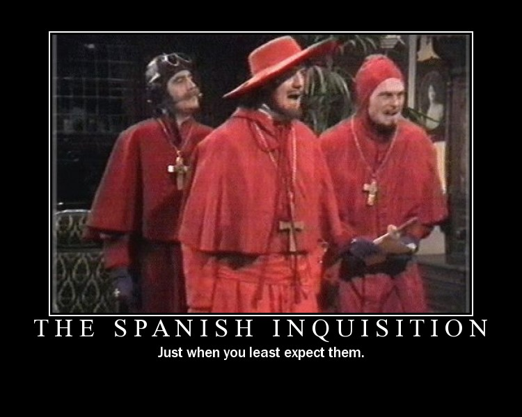 "Uncanny similarities between the ""Wahaabiyah"" movement & the Spanish Inquisition"