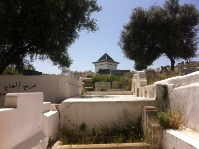 Many awliyah buried in the graveyard of Fez