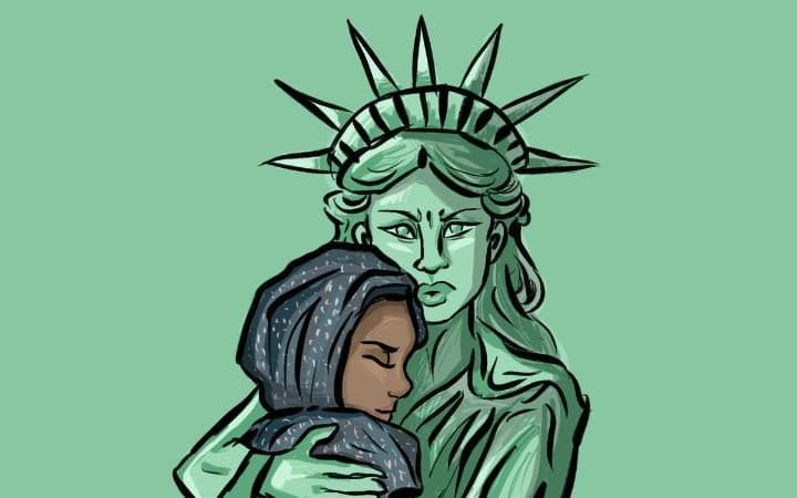 The good that has come out of Trump's#MuslimBan