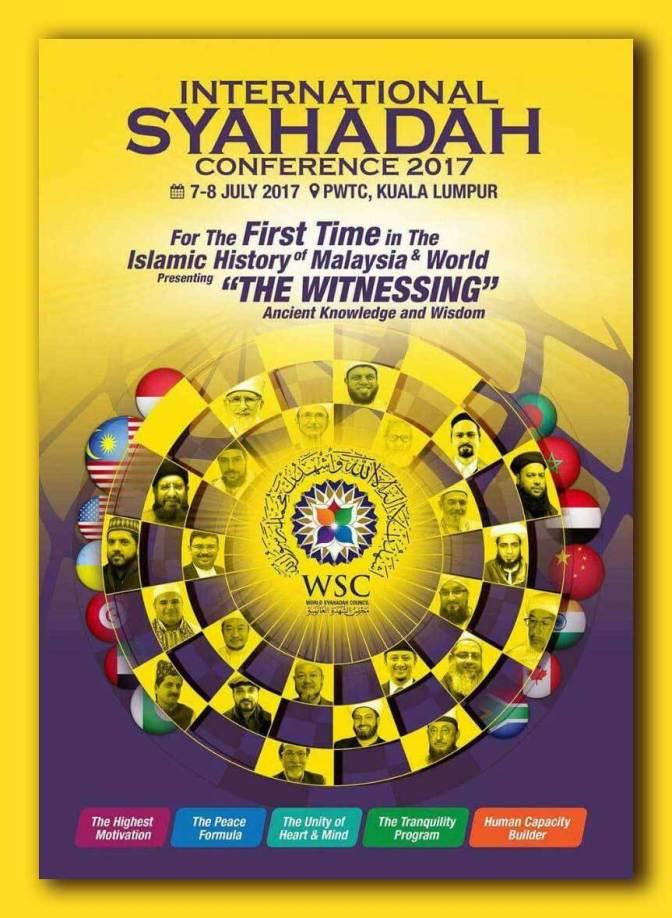 International Syahadah Conference 2017 (Malaysia)