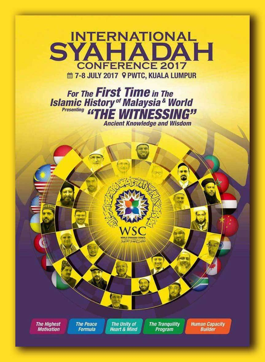 International Syahadah Conference 2017(Malaysia)